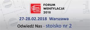 Targi Forum Wentylacja 2018