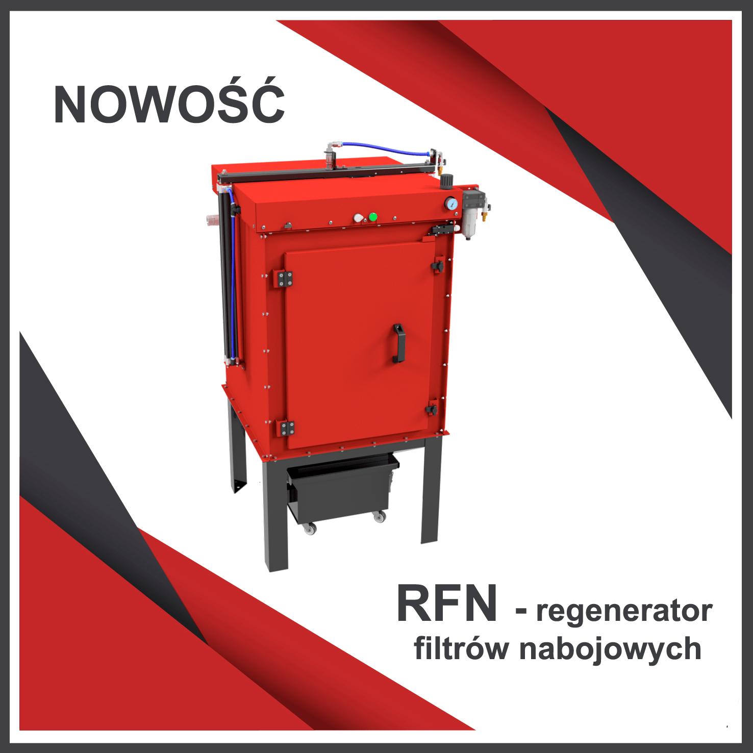 Nowość regenerator filtrów nabojowych