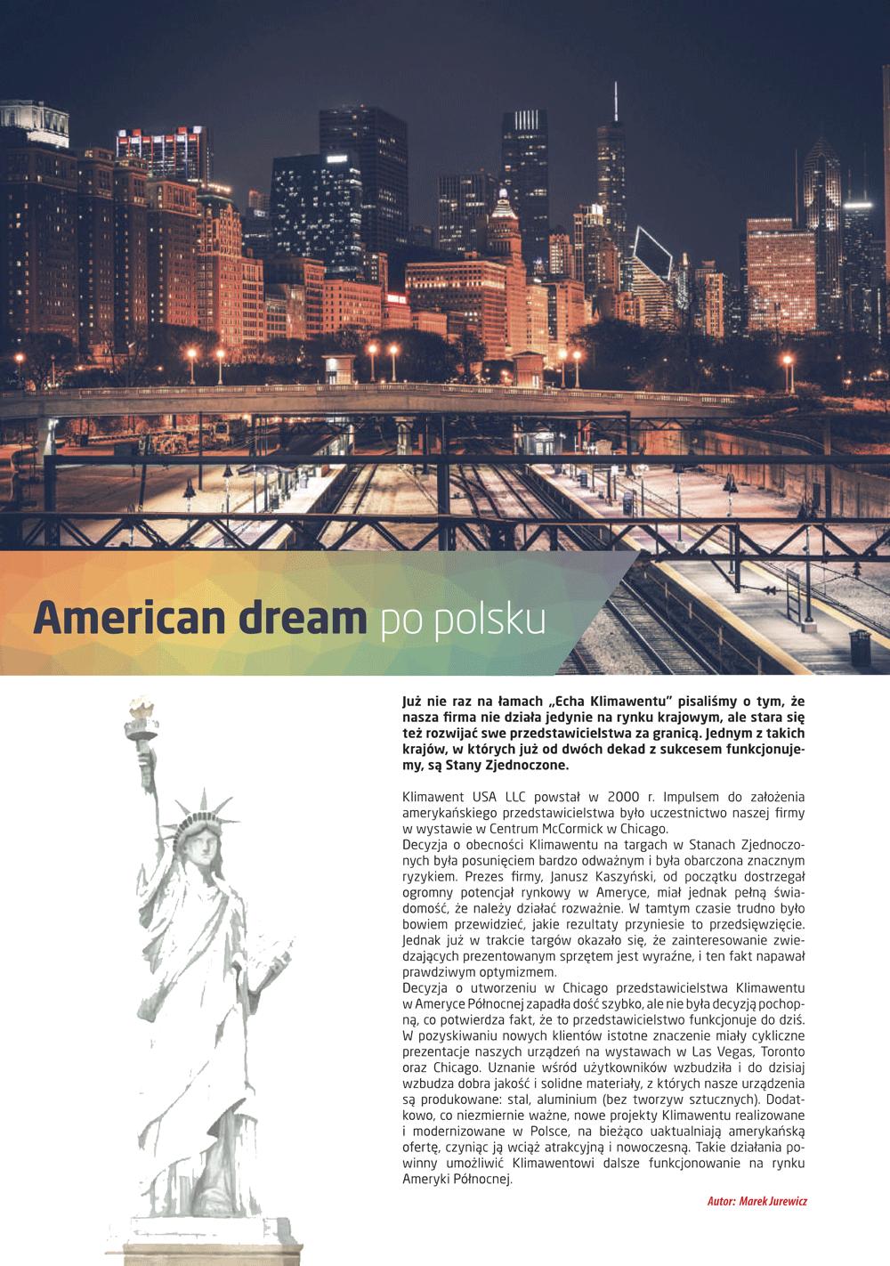 American dream po polsku